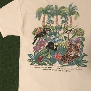 Vintage 1990s Endangered Species T Shirt